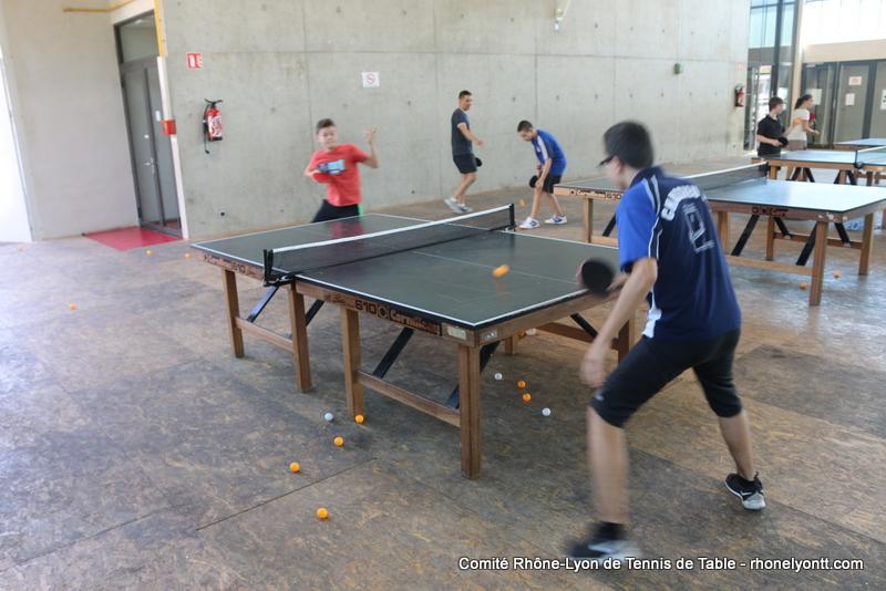 Galerie photos comit tennis de table rh ne m tropole de - Federation francaise de tennis de table classement ...
