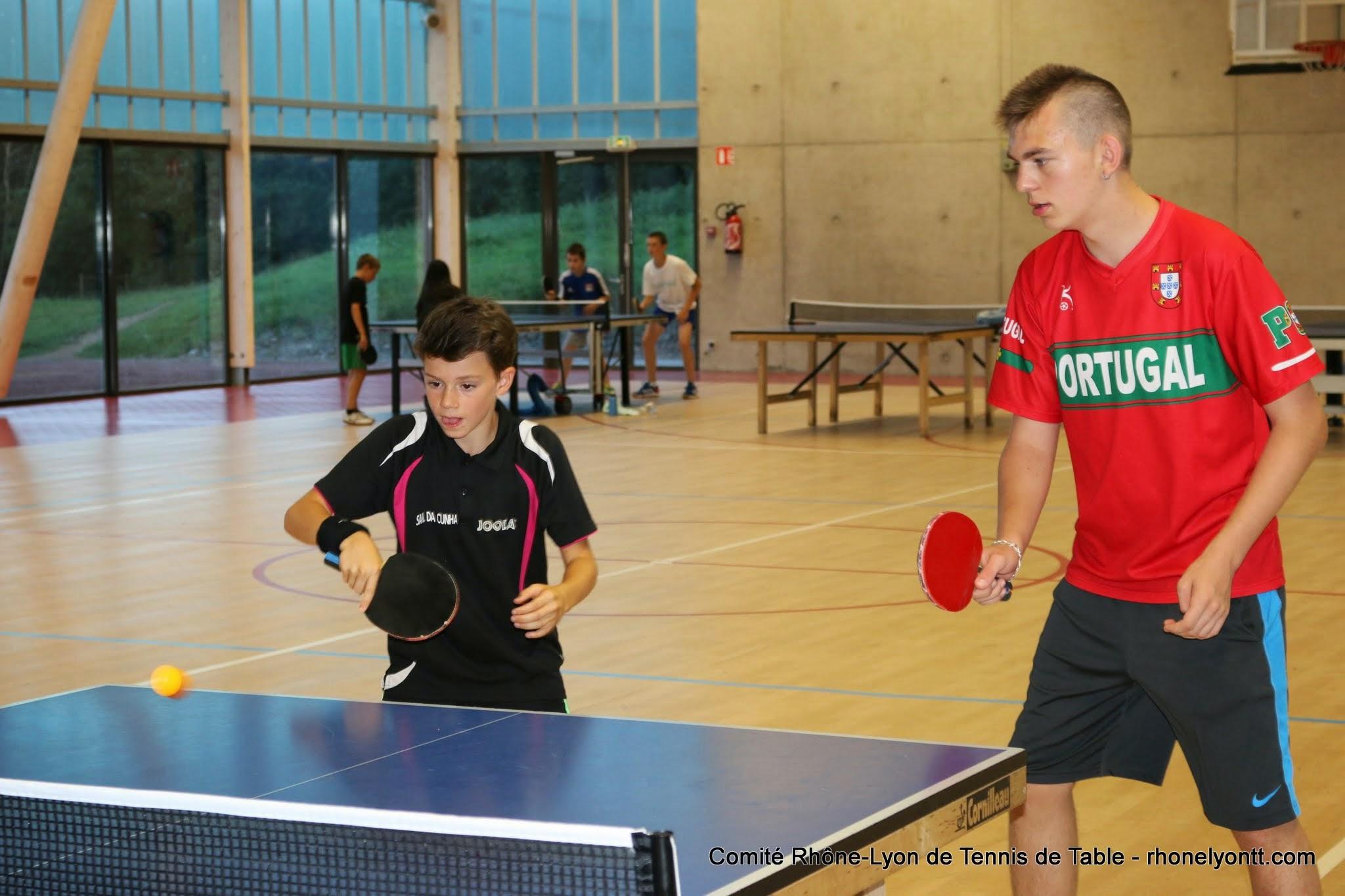 Auvr rillieux championnat de france f minin masculin - Federation francaise tennis de table ...
