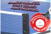 Prochaine rencontre de Nationale 3 de TT GERLAND – 15/10/2016