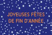 Toute l'équipe du Comité vous souhaite de joyeuses fêtes de fin d'année !