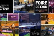 «Le Ping à la Foire de Lyon», c'est terminé ! Une aventure solidaire à la hauteur de cet événement international. Merci à tous !