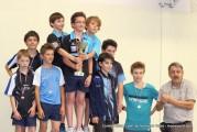 Les jeunes champions des Interclubs en Benjamins/nes et Minimes !
