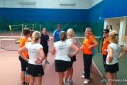 L'atelier Ping au «Tie Break des copines» (du Comité du Rhône de Tennis)