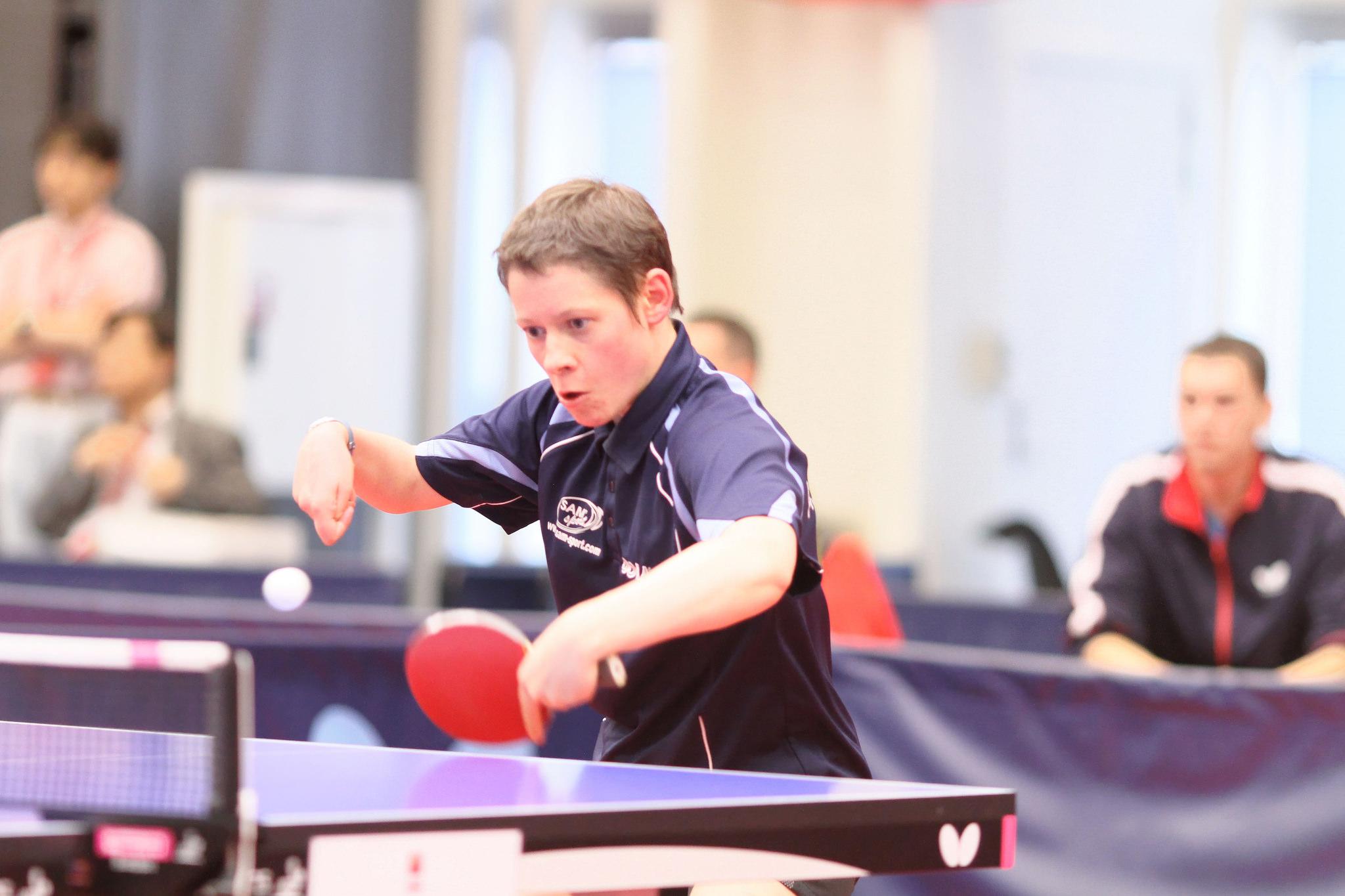 Championnats d europe tt handisport deux joueurs rh ne - Championnat d europe de tennis de table ...