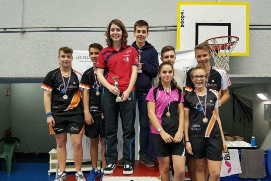 Champions & championnes Minimes-Cadets-Juniors 2016