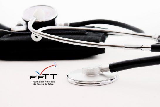 Circulaire administrative FFTT 17-18 : gestion des certificats médicaux dès 2017-2018