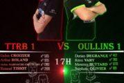 FRAT Oullins : Nationale 3 / TTRB 1 VS OULLINS 1 / Samedi 10 mars 2018 à 17h
