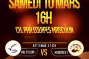 Val d'Ozon : Championnat de France par équipes Nationale 3 et Pré-Nationale – samedi 10 mars 2018 à 16 & 17h