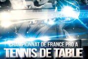 Championnat de France Pro A Messieurs : Loire Nord TT reçoit Rouen le mardi 3 avril à 19h30 à Roanne