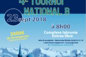 Haute-Savoie : le PRGTTorganise son 4èmetournoide reprise le dimanche 23 septembre 2018 à La Roche Sur Foron