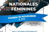 Samedi 10 novembre : Nationales Féminines au TT Gerland