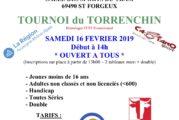 Tournoi Pontcharra-Saint Forgeux 16/02/2019