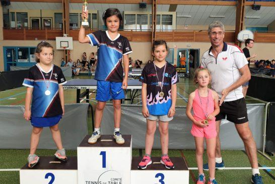 Championnes et champions Poussins/Benjamins 2019