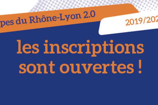 Les inscriptions pour les Coupes du Rhône-Lyon 2.0 sont ouvertes !