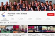 La chaine YouTube du Val d'Ozon TT met en avant les rencontres de leur équipe de Nationale 3 Messieurs