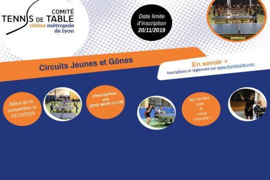 Circuits Jeunes & Gones : derniers jours pour s'inscrire !