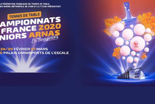 Devenez BÉNÉVOLE aux Championnats de France Seniors 2020 à Arnas !
