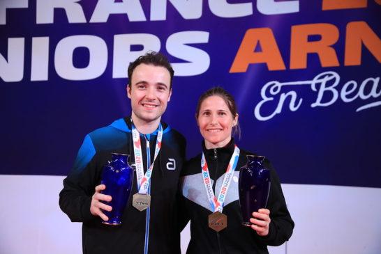 Grundisch et Gauzy, championne et champion de France