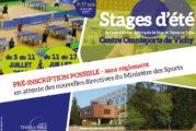Les stages de Vichy 2020 auront bien lieu !