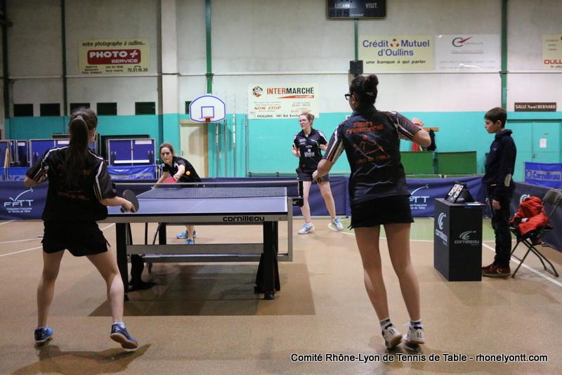 Semaine comit tennis de table rh ne m tropole de lyon for Tennis de table lyon 6