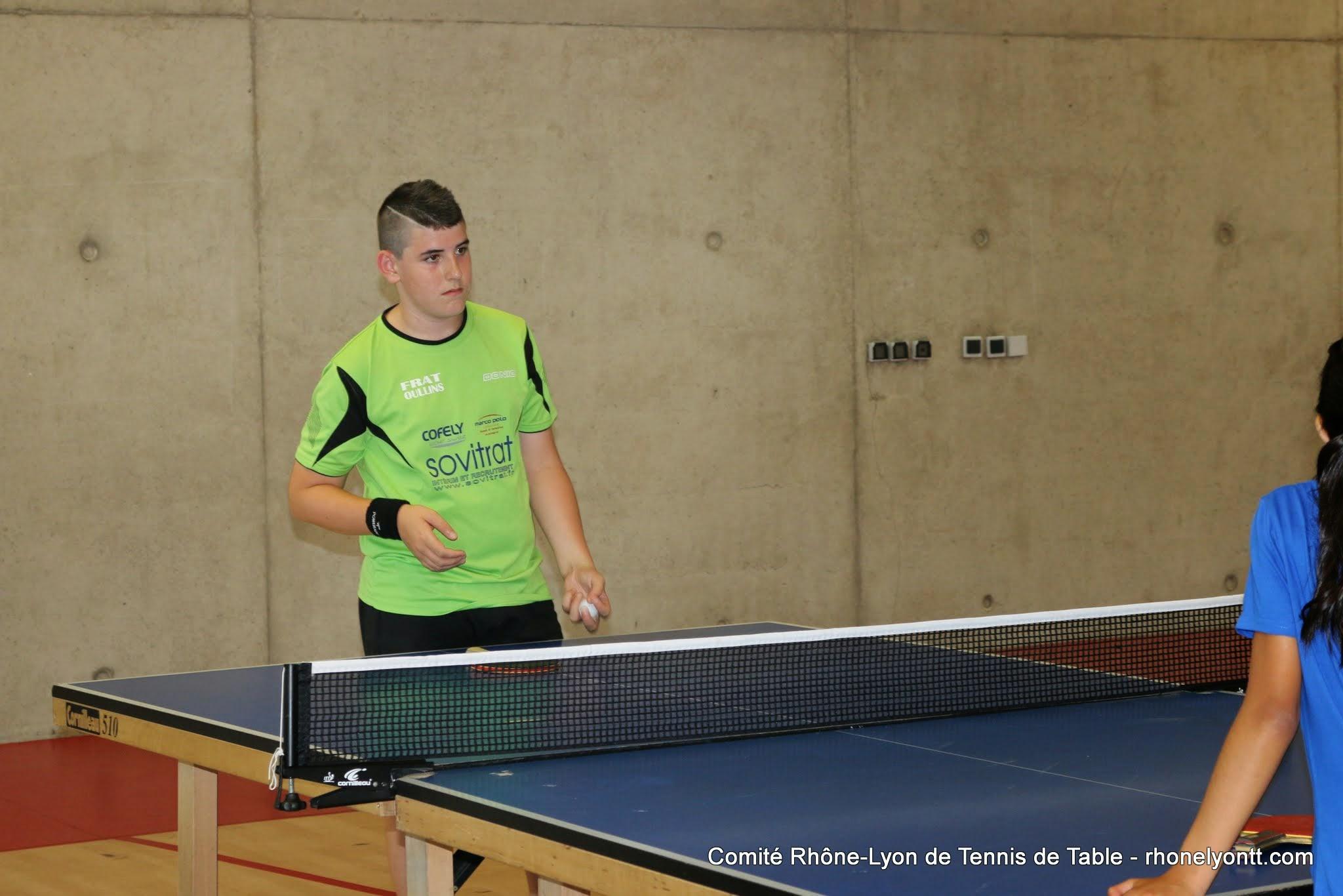 Actions sur s lection comit tennis de table rh ne for Tennis de table lyon 6