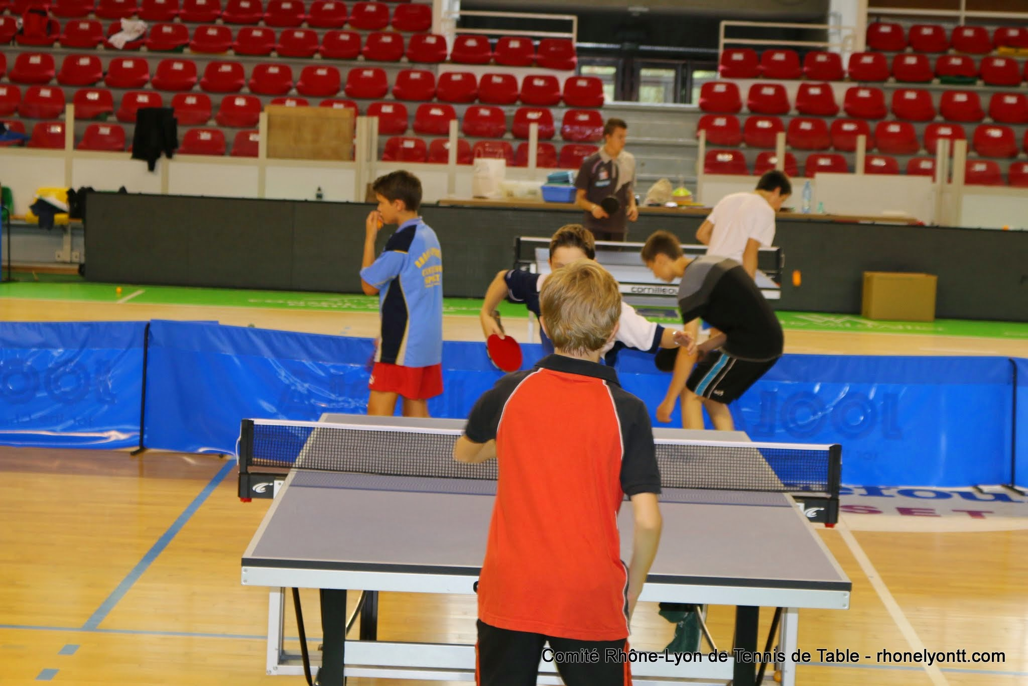 Formation girpe samedi 16 09 2017 comit tennis de for Tennis de table lyon 6