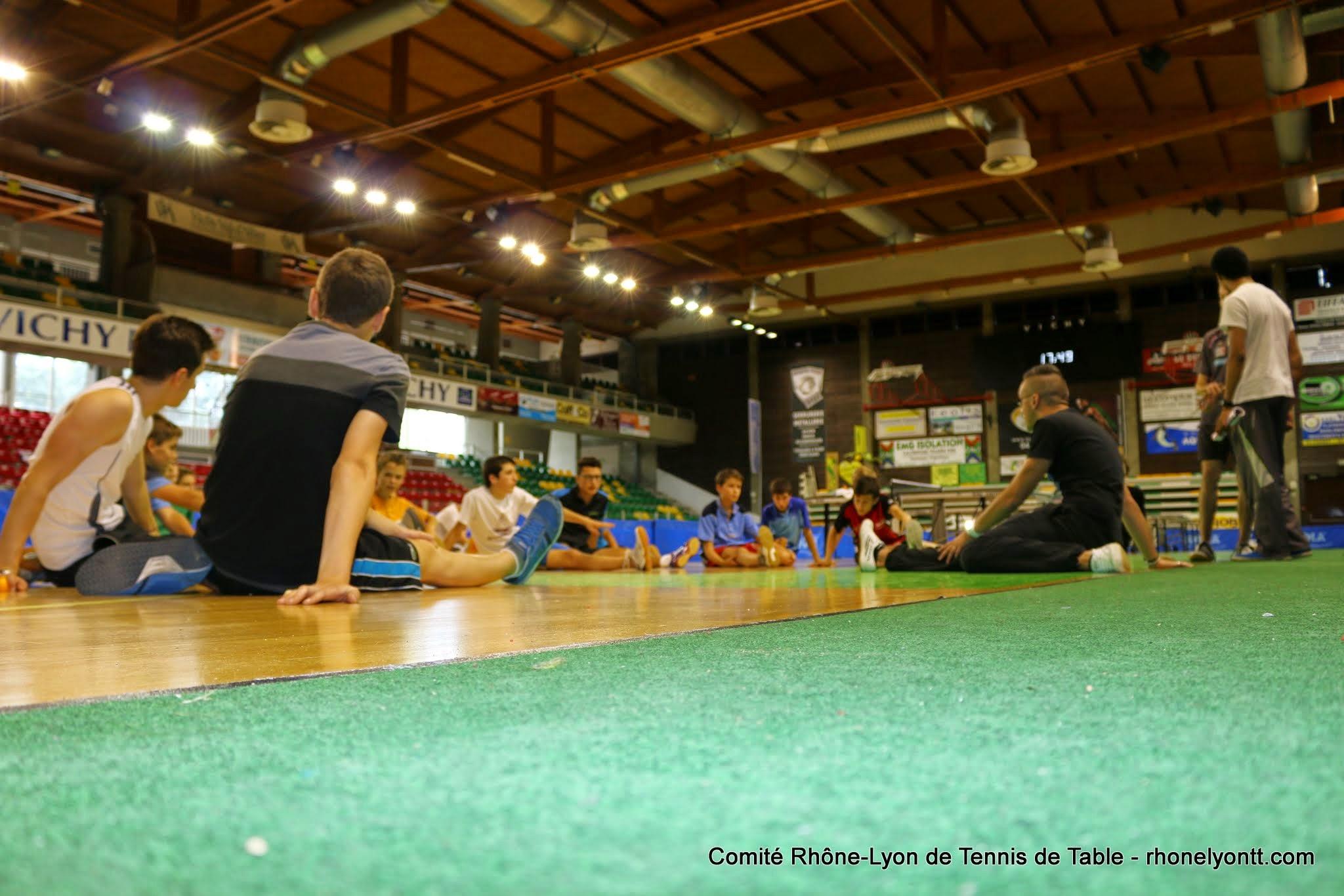Asul lyon 8 n1 messieurs n3 dames samedi 18 novembre for Tennis de table lyon 6