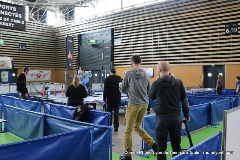 Le ping la foire de lyon c est termin une for Tennis de table lyon 6