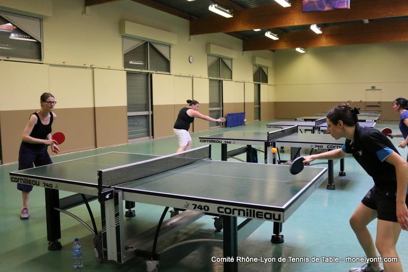 R glements sportifs comit tennis de table rh ne for Tennis de table lyon 6