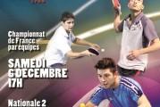Journée 6 Nationale 2 : AL CROIX-ROUSSE vs TT GRESIVAUDAN