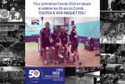 Ping au féminin le 3 janvier 2016 – Inscriptions en ligne !