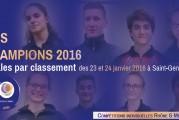 Découvrez nos champions Rhône et Métropole des Finales par classement 2016 !