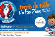 Le Tennis de Table investit la Fan Zone lyonnaise de l'Euro 2016 ! Participez en tant que bénévole au rendez-vous de l'année !