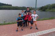 Stage de reprise des benjamins au lac des sapins