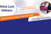 Rhône Lyon Vétérans : inscriptions jusqu'au 4 décembre !