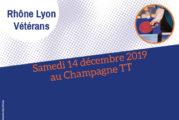 Finales Rhône-Lyon Vétérans 19-20 : convocation et listes