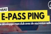 Nouveau : le e-Pass Ping