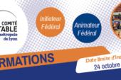 Formation entraineur : les inscriptions se clôturent le 24 octobre 2020