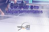 Les décisions du Comité pour les compétitions départementales