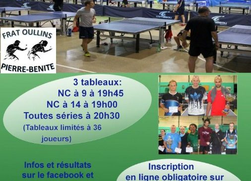 Challenge d'été à la Frat Oullins – Pierre-Bénite TT