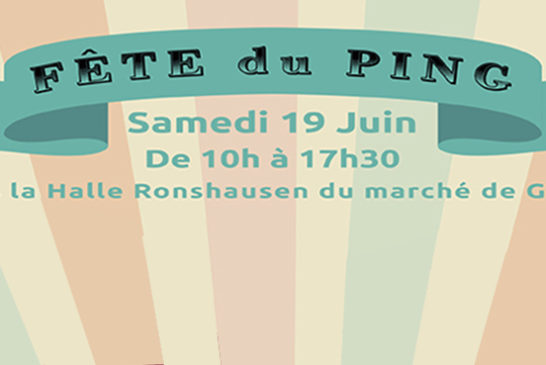 Fête du Ping de l'ESGATT – samedi 19 juin 2021 de 10h à 17h30